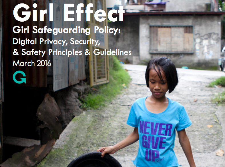 Girl Effect Girl Safeguarding Policy and Guidelines